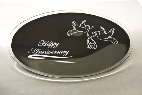 Happy Anniversary Plates