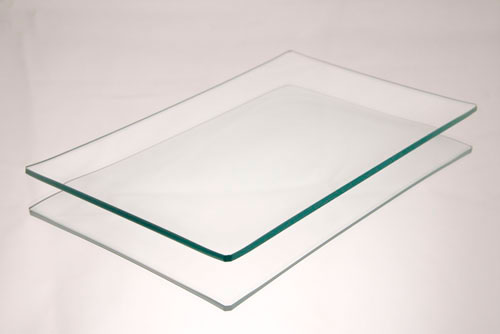5x8 Rectangle Clear Glass Plate