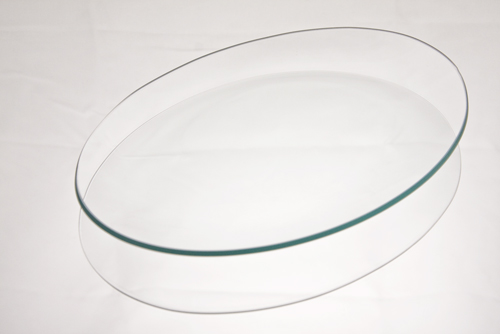 Oval Glass Plates
