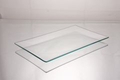 6 x 10 shallow float glass plate