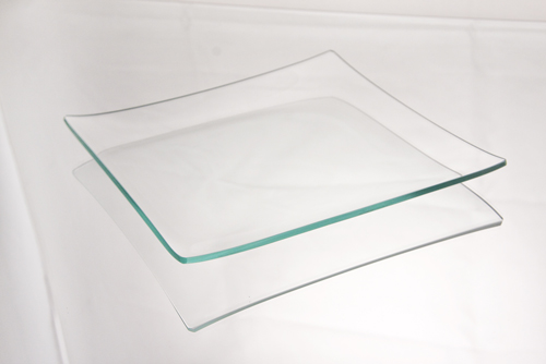 Square Glass Plates