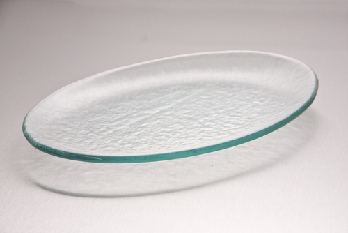 Textured Glass for serving.