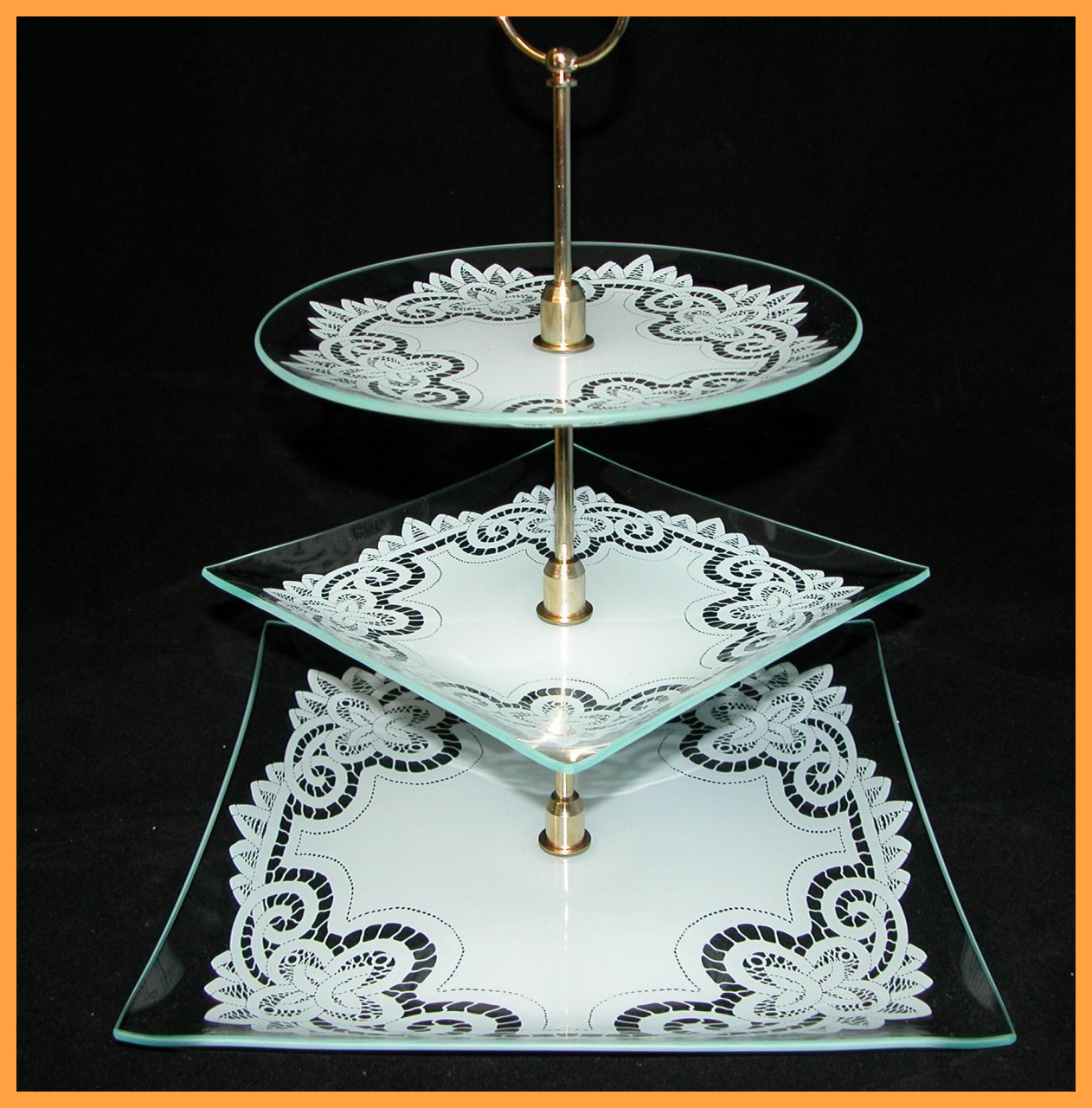 3 Piece Tray Set - 13