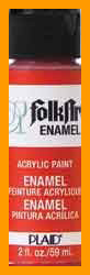 Folk Art Enamel Paint -Black