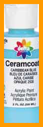 Ceramcoat Acrylic Paint 2 Ounces-Black