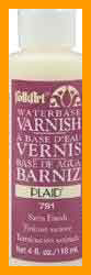Folk Art Waterbase Satin Varnish 4 Oz