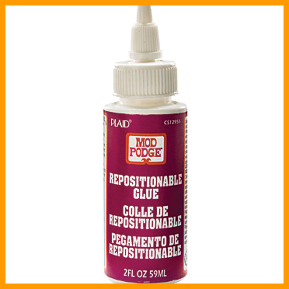 Mod Podge Repositionable Glue 2 Oz.
