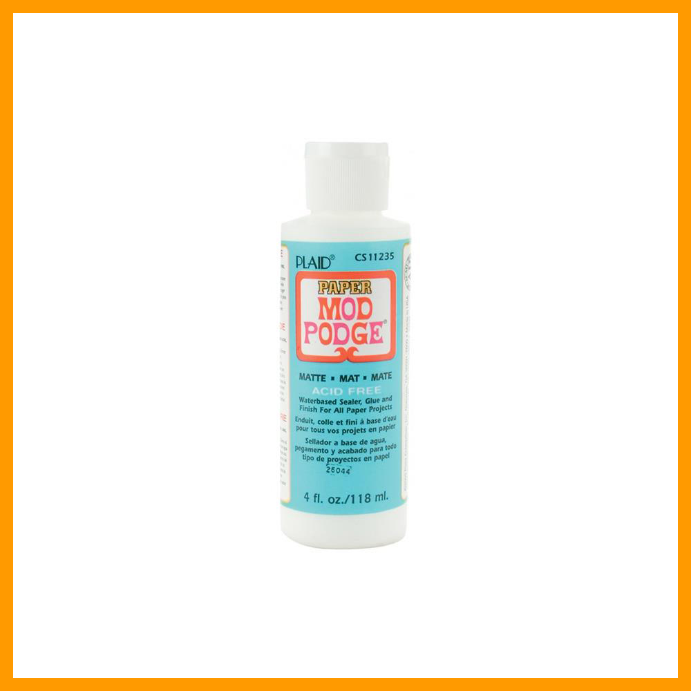 Mod Podge Paper Matte Glue, Sealer & Finish