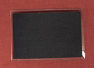 Adhesive Felt, 4 x 6 Rectangle for 4 1/2 x 6 1/2 glass plate