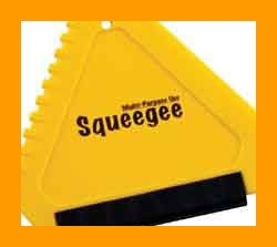 Squeegee - 3 Sided