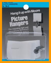Nail-Less Cloth Picture Hangers 6/Pkg