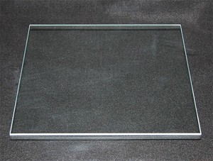 "20"" Square Clear Flat, 1/8"""