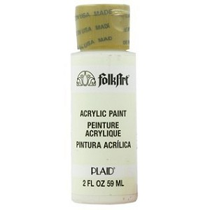 Folk Art Acrylic Paint 2 oz.-White