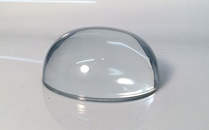 "3 1/2"" Recess Dome Paperweight"