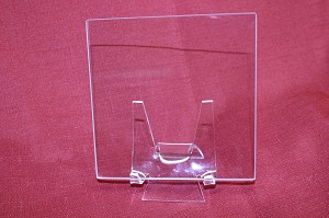 "10"" Square Low Iron Clear Flat Glass, 4MM (DG)"