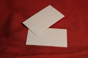 "Felt, Adhesive, 2 3/4"" x 4 3/4"" Rectangle (for 3"" x 5"" Pencil Edge PW)"