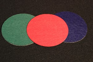 "Felt, Adhesive, 3 9/16"" Round (for 3 3/4"" Crystal PW)"