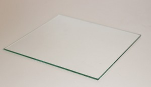 "6"" Square Flat Glass, 3/32"" Thickness (SS)"